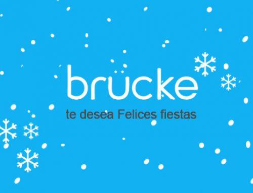 Brucke te desea Felices fiestas